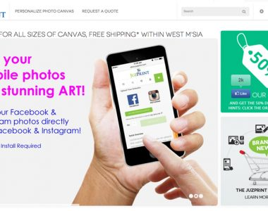 JuzPrint – Online Canvas Store