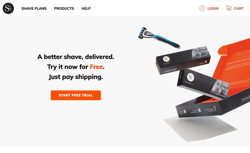 E-Shops2u Portfolio - Shaves2U Men's Toiletries