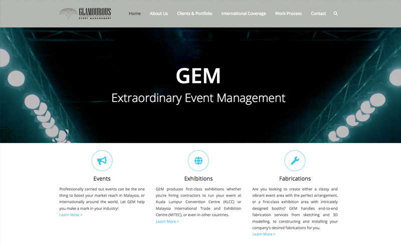 E-Shops2u Portfolio - Glamourous Event Management
